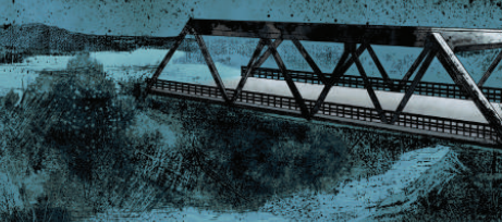 there is a bridge
